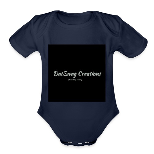 DatSwag Creations - Organic Short Sleeve Baby Bodysuit