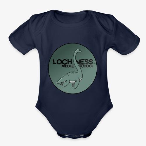 LOCH NESS - Organic Short Sleeve Baby Bodysuit