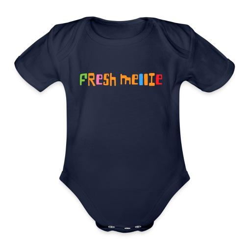 Fresh Mellie - Organic Short Sleeve Baby Bodysuit