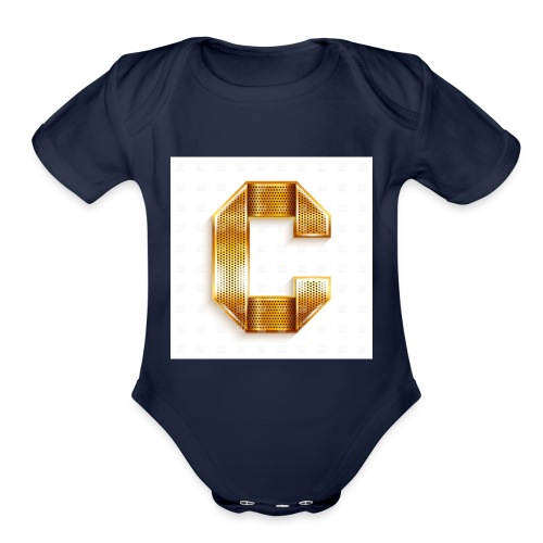 c.. the cool merch - Organic Short Sleeve Baby Bodysuit