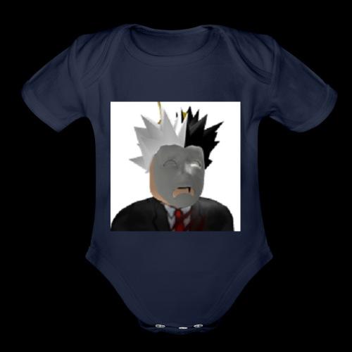 Cadutad T-shirt - Organic Short Sleeve Baby Bodysuit