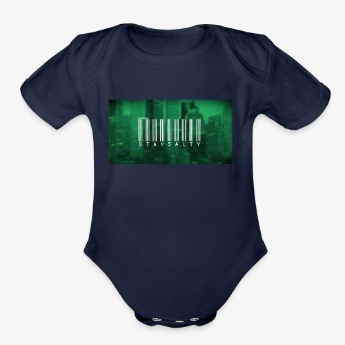 FuzeWolf-Stay Salty - Organic Short Sleeve Baby Bodysuit