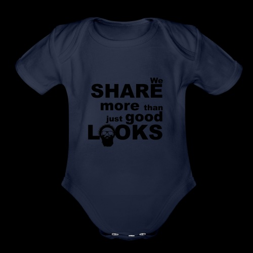 Wild Eskimos share more than just good looks - Organic Short Sleeve Baby Bodysuit