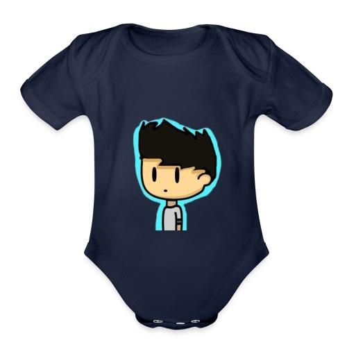 DanYaBoi - Organic Short Sleeve Baby Bodysuit