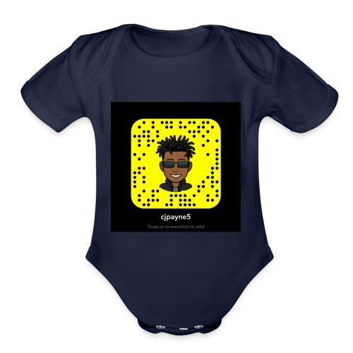Snap - Organic Short Sleeve Baby Bodysuit