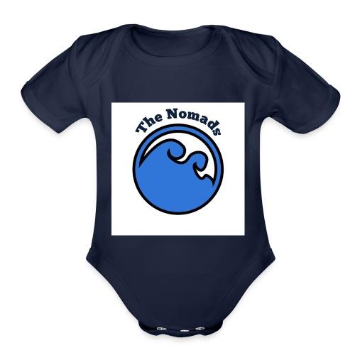 nomads - Organic Short Sleeve Baby Bodysuit