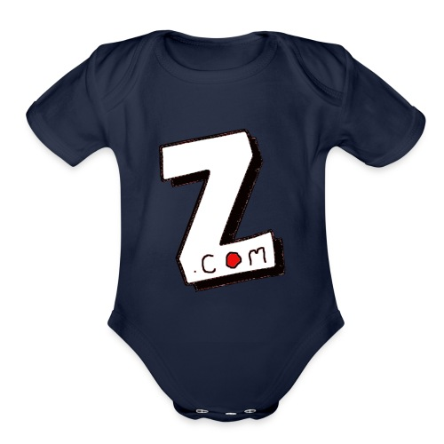 Zvigaba.com - Organic Short Sleeve Baby Bodysuit