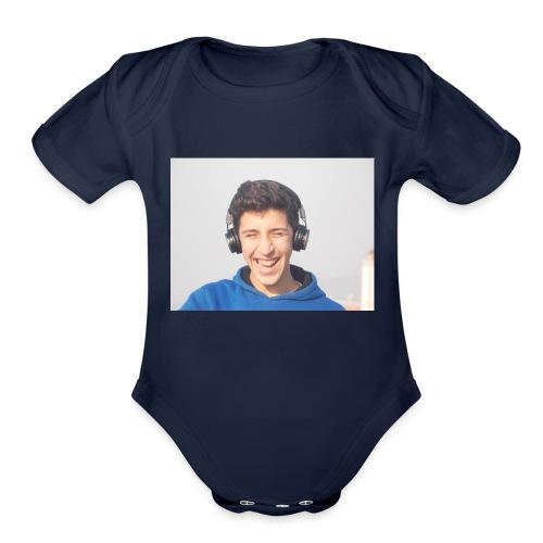 FODIL SLMT - Organic Short Sleeve Baby Bodysuit