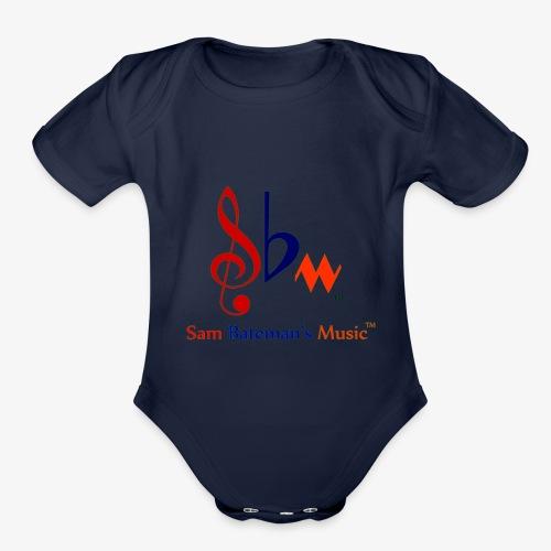 Sam Bateman's Music - Organic Short Sleeve Baby Bodysuit