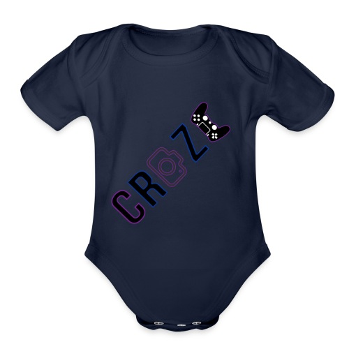 Craze 2018 logo - Organic Short Sleeve Baby Bodysuit