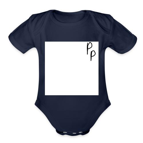 My signature - Organic Short Sleeve Baby Bodysuit