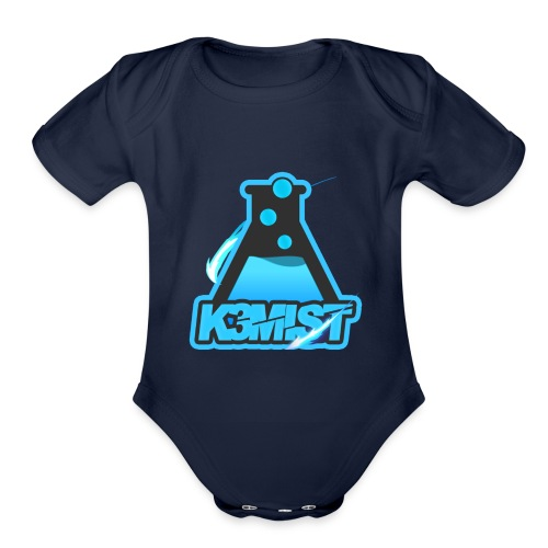 K3MISTRY Logo - Organic Short Sleeve Baby Bodysuit