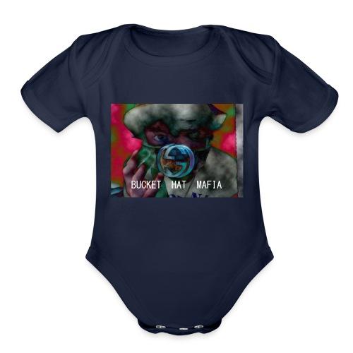 Yung Brodog BHM SS2017 - Organic Short Sleeve Baby Bodysuit