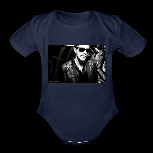 Downtown - Organic Short Sleeve Baby Bodysuit