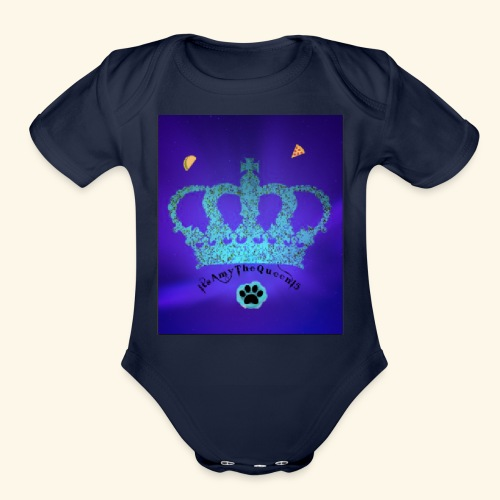 Itsamythequeen15 Merch - Organic Short Sleeve Baby Bodysuit