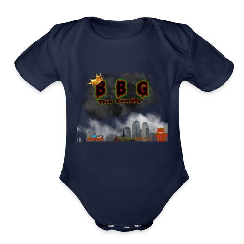 Only The BBG Family - Organic Short Sleeve Baby Bodysuit