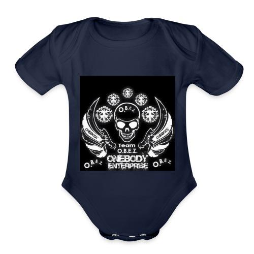 O.B.E.Z - Organic Short Sleeve Baby Bodysuit