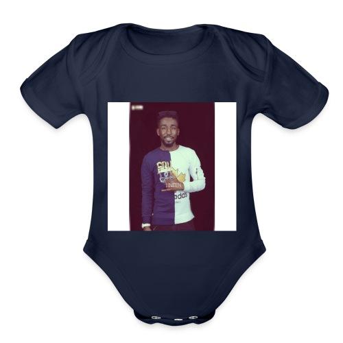 zambar - Organic Short Sleeve Baby Bodysuit