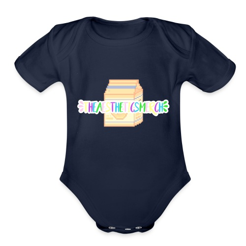 Theaestheticsmerch - Organic Short Sleeve Baby Bodysuit