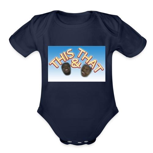 T&T - Organic Short Sleeve Baby Bodysuit