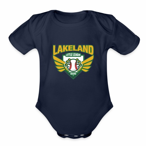 20485ae07d lakeland - Organic Short Sleeve Baby Bodysuit