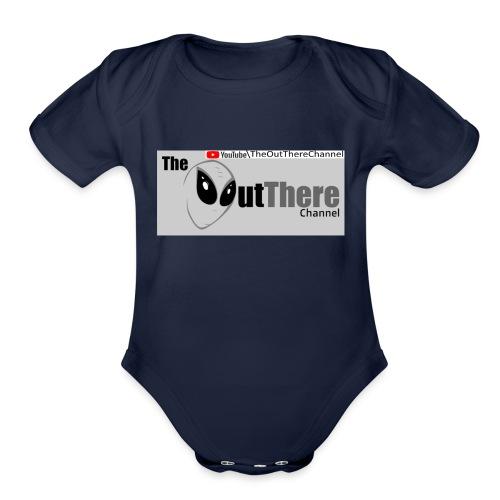 Tshirt OTchan Banner v3 2018 11 05 with Back PINKY - Organic Short Sleeve Baby Bodysuit