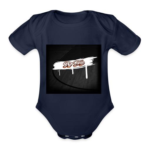 image2-2 - Organic Short Sleeve Baby Bodysuit