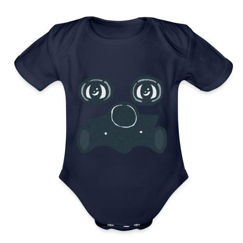 Toxic - Organic Short Sleeve Baby Bodysuit