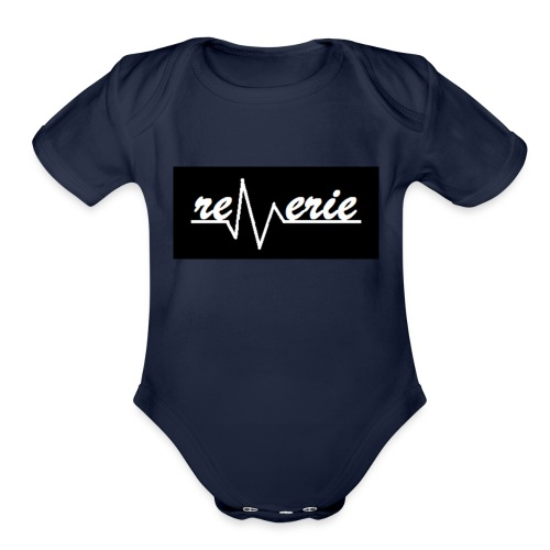 reverie - Organic Short Sleeve Baby Bodysuit