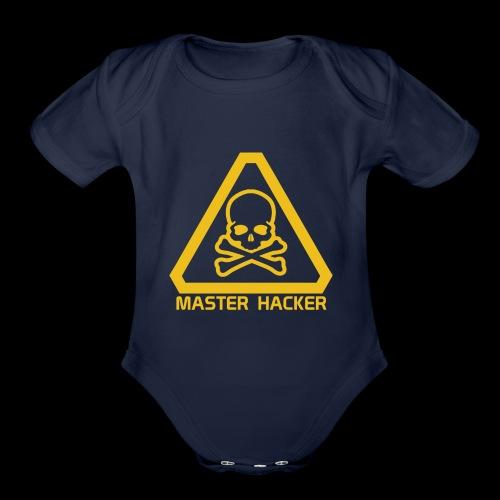 Master Hacker - Organic Short Sleeve Baby Bodysuit