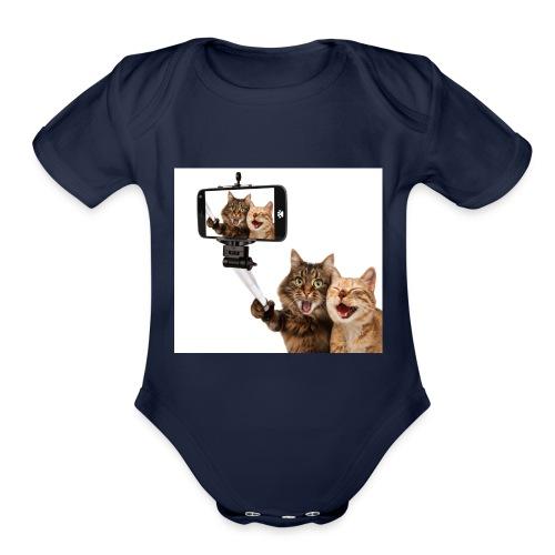 selfi-wallpaper-10928212 - Organic Short Sleeve Baby Bodysuit