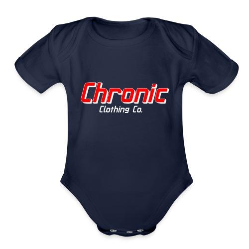Chronic Classic - Organic Short Sleeve Baby Bodysuit