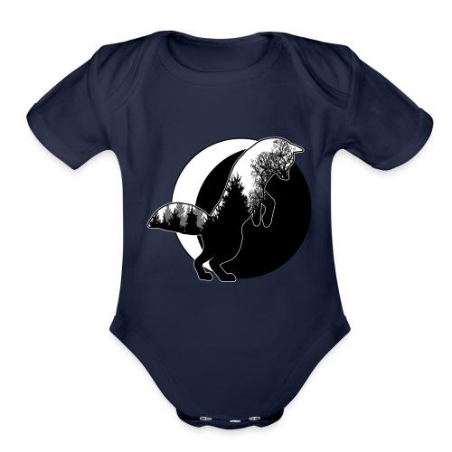 AR1 - Organic Short Sleeve Baby Bodysuit