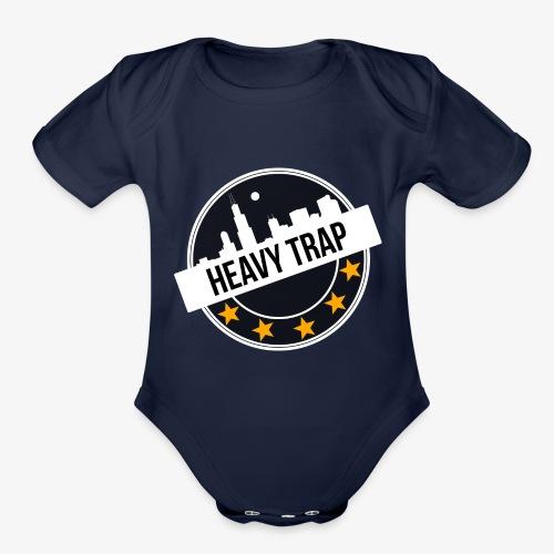 HEAVY TRAP - Organic Short Sleeve Baby Bodysuit