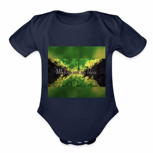Mi kno seh mi bless - Organic Short Sleeve Baby Bodysuit