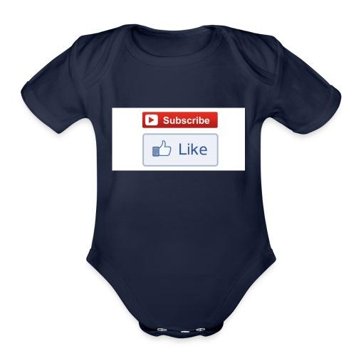 THEWDGAMING - Organic Short Sleeve Baby Bodysuit