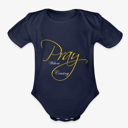 Pray - Organic Short Sleeve Baby Bodysuit