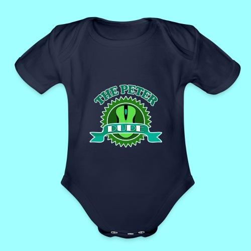 TPD Logo - Organic Short Sleeve Baby Bodysuit