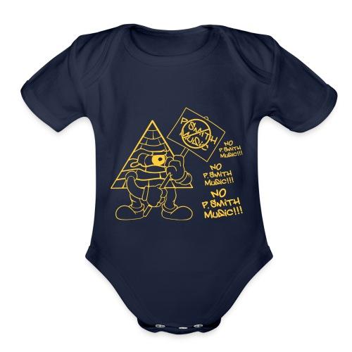 Picket_Sikkgn_Shirt - Organic Short Sleeve Baby Bodysuit