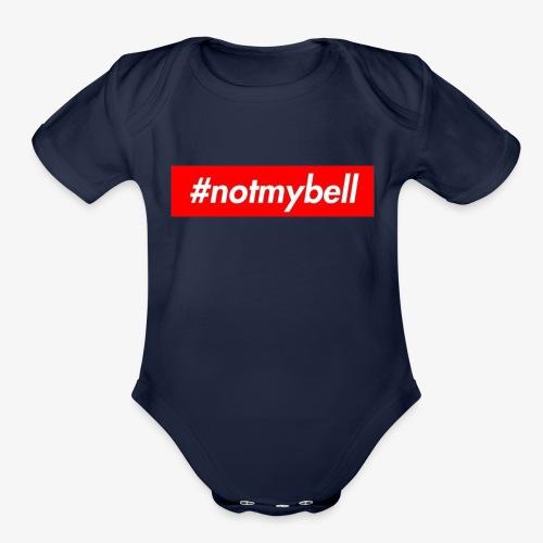 Not My Bell inspiration box logog - Organic Short Sleeve Baby Bodysuit