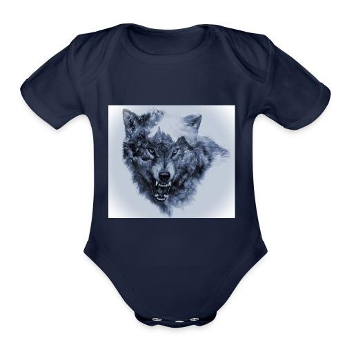 wallpaper1466342107b224c3 - Organic Short Sleeve Baby Bodysuit