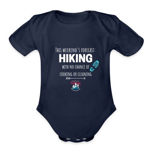 Forecast for the Weekend: Hiking - Organic Short Sleeve Baby Bodysuit