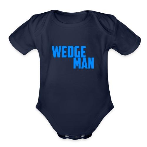 WedgeMan - Organic Short Sleeve Baby Bodysuit