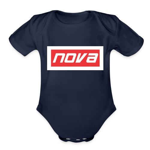 NOVA - Organic Short Sleeve Baby Bodysuit