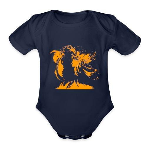Map - Organic Short Sleeve Baby Bodysuit