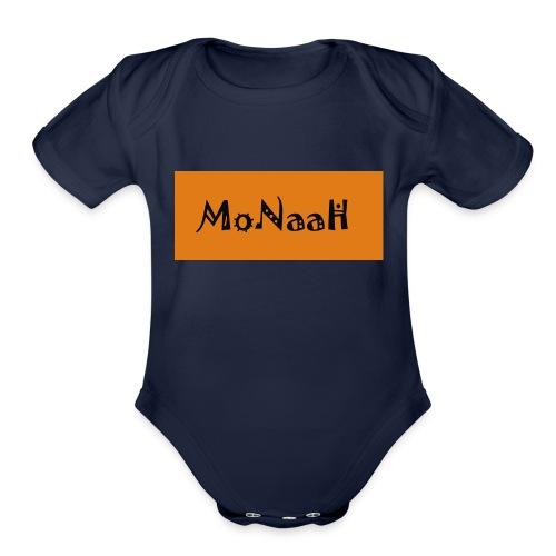 Monaah - Organic Short Sleeve Baby Bodysuit