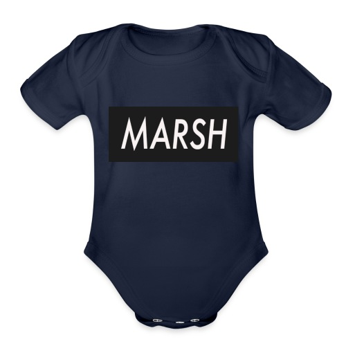 marsh apperal - Organic Short Sleeve Baby Bodysuit