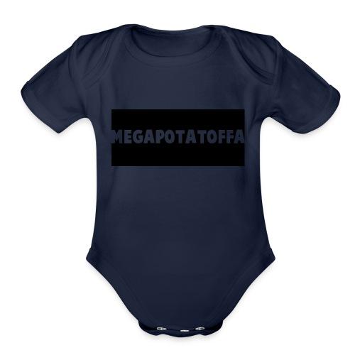 potato merch - Organic Short Sleeve Baby Bodysuit