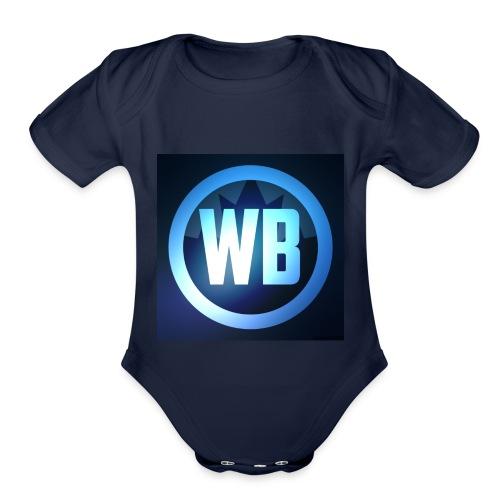 WOLF SQUAD - Organic Short Sleeve Baby Bodysuit