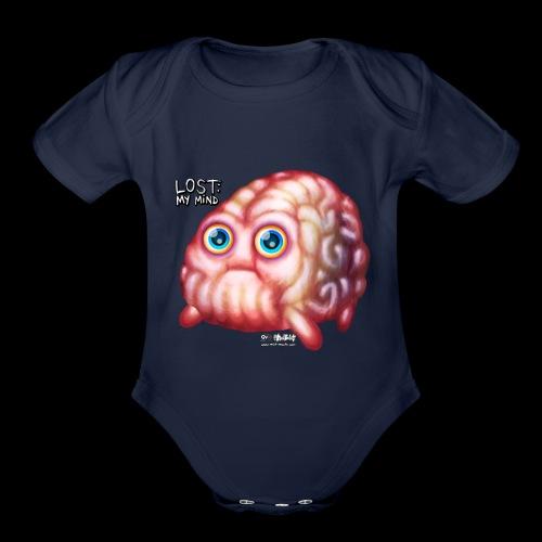 LOST My Mind - Organic Short Sleeve Baby Bodysuit